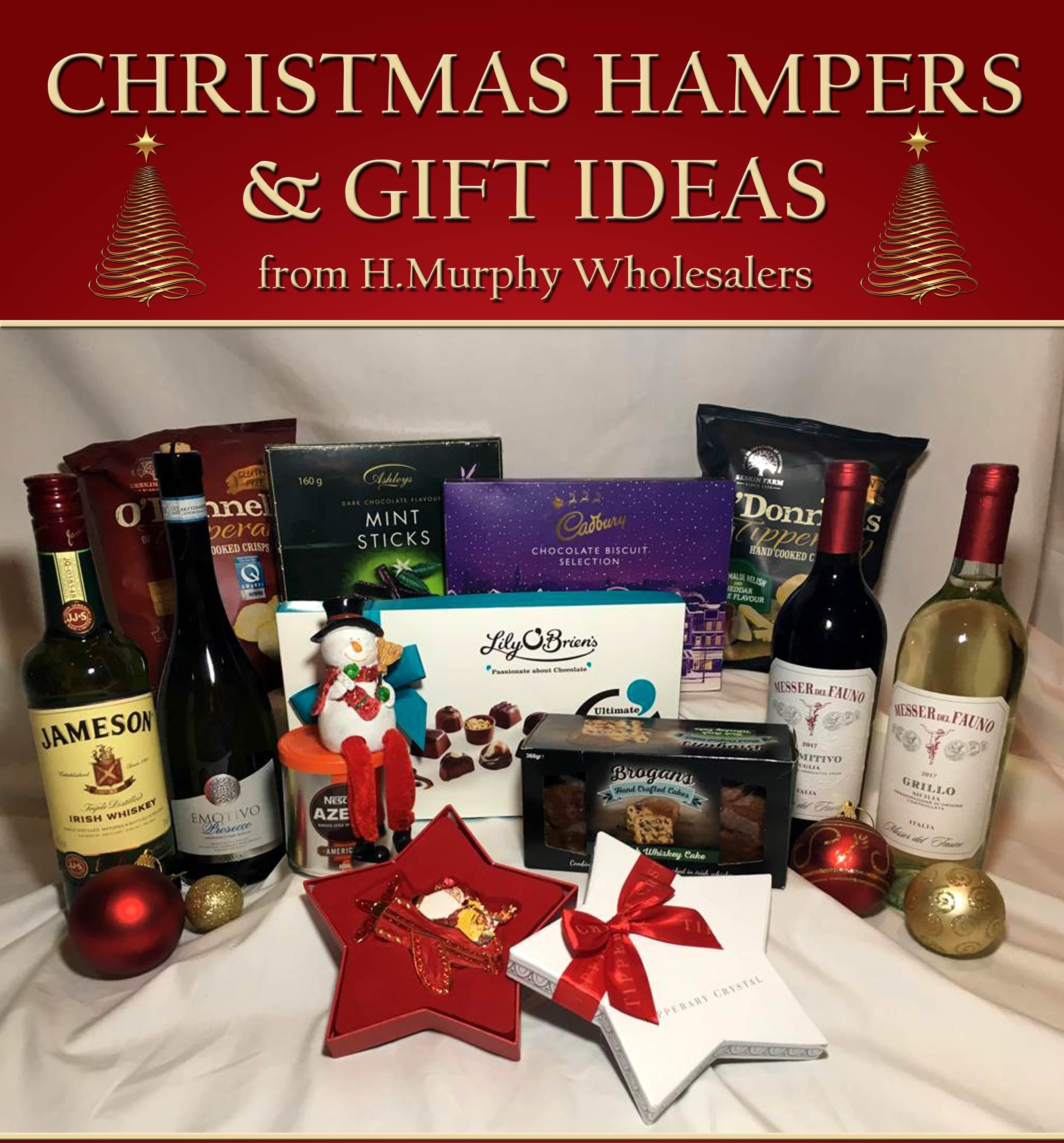Christmas Hampers And Gift Ideas From H. Murphy Wholesalers